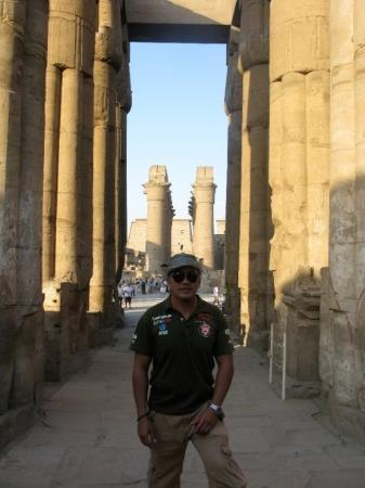 Tomb of Ramses III: temple of ramses