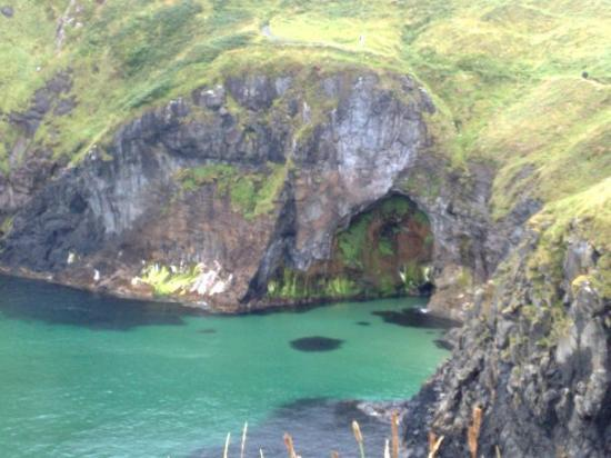 Donegal Town, Ireland: cave again
