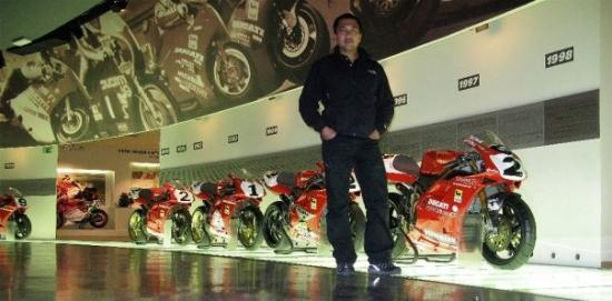 ducati superbikes gallery @ bologna, italy - picture of museo