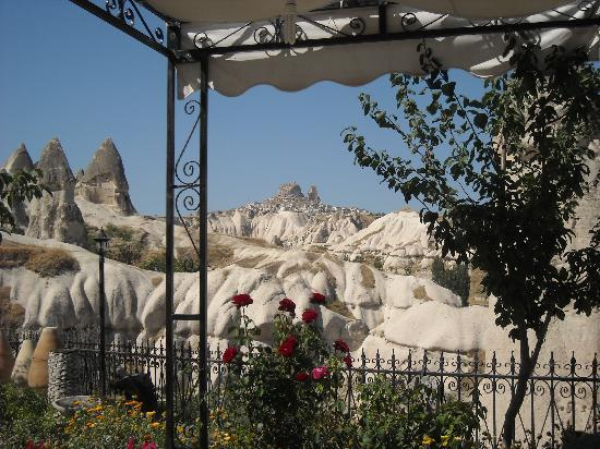 Goreme Suites: View from the breakfast terrace