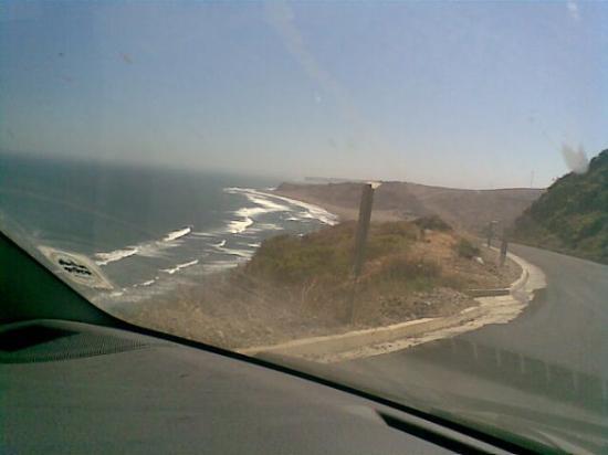 Matanzas, Chile: Espectacular la carretera costera
