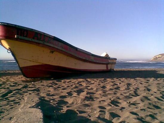 Matanzas, Chile: Uno de mis postales, en el momento preciso
