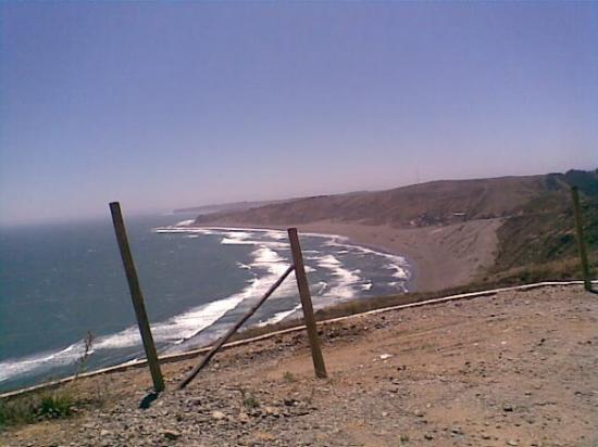 Matanzas, Chile: Playa de Las Brisas
