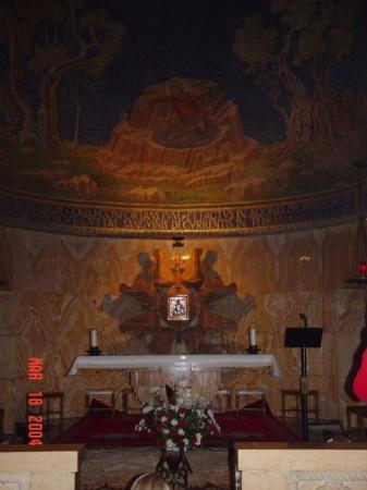 Church of All Nations (Basilica of the Agony): The Church of All Nations in the Garden of Gethsemane where Jesus prayed and sweated blood.