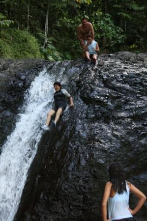 Papaseea Sliding Rock Imagem