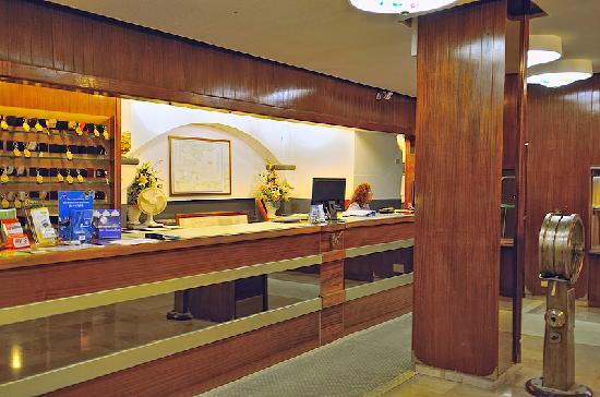 Park Hotel Suisse : Reception