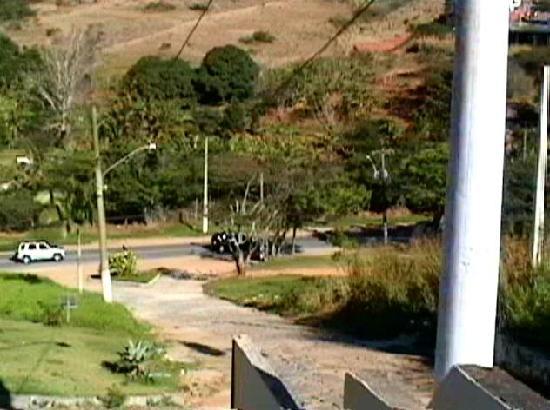 Nova Villa Tortuga: vista desde la terraza privada, esa loma hay subirla y bajarla cada vez que se sale del hotel