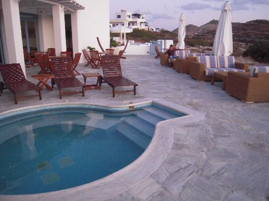 Melian Boutique Hotel & Spa: Main hotel balcony