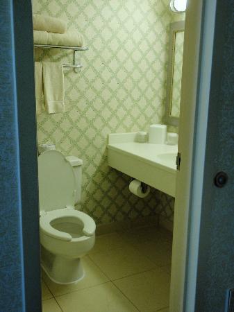 Charleston Marriott Town Center: Bathroom in Standard Room