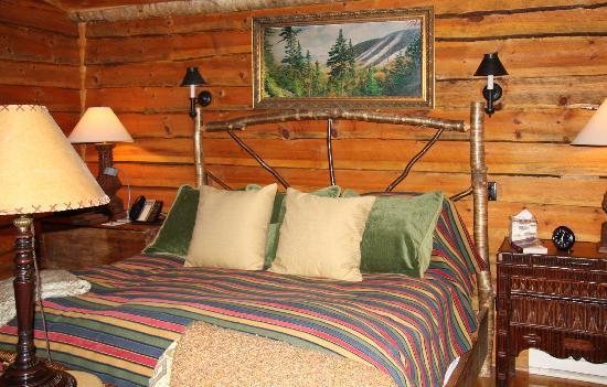 Lake Placid Lodge: Bed in Birch cabin