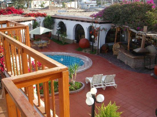 Hotel Don Agucho: Vista des arriba