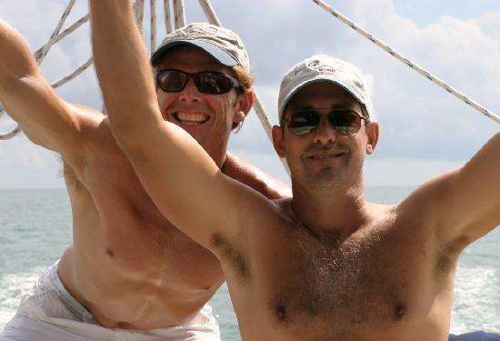 Blu Q Catamaran: Mate Dave & Capt Markham are the best!