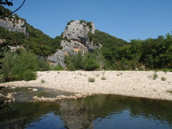 Domaine de la Sabliere: Another river section at Sabliere