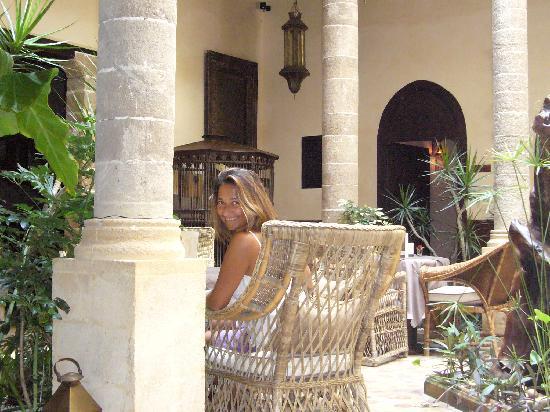 Villa de l'O: marabilloso jardin interior