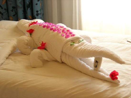 Resta Club Resort: An animal made by the cleaners