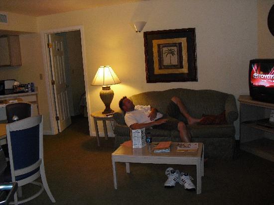 living room picture of staybridge suites lake buena. Black Bedroom Furniture Sets. Home Design Ideas