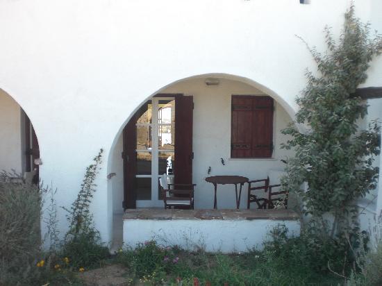 Naxos Kalimera Hotel: Cozy terrace
