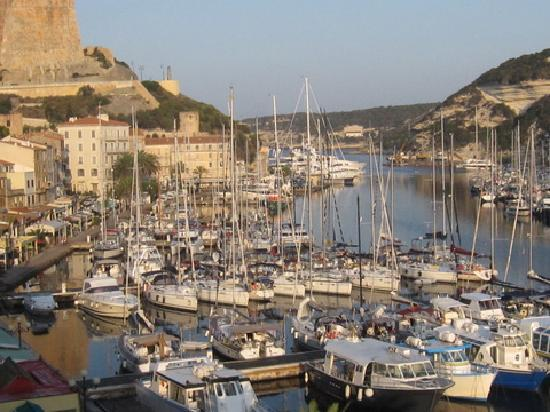 Best Western Hotel du Roy D'Aragon : Harbor view from Terrace Room