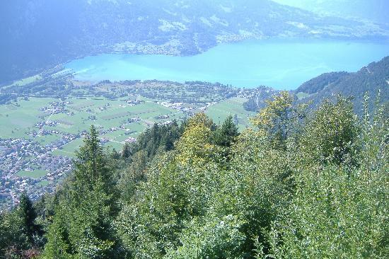 Hotel Sonne : West interlaken (from  Harder Kulm)