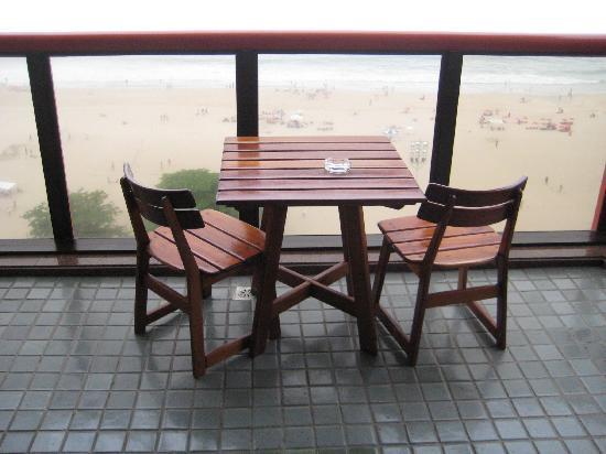 PortoBay Rio Internacional Hotel: Ocean Front Balcony