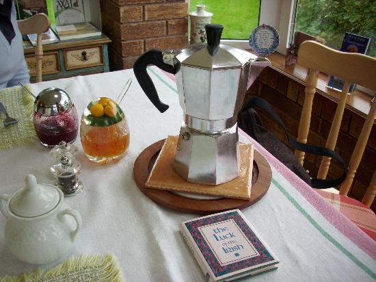 Оранмор, Ирландия: ocean wiew ...un buon caffe'