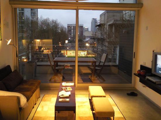 Hollywood Suites & Lofts: palermo loft - living area