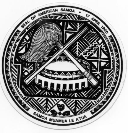 Tutuila, American Samoa: Seal of American Samoa