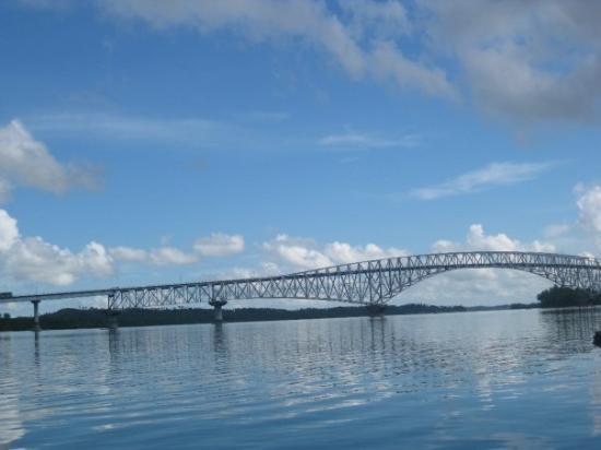 San Juanico Bridge, Tacloban, Philippines