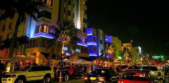 Ocean Drive: The infamous Ocean Dr. - Miami, FL.
