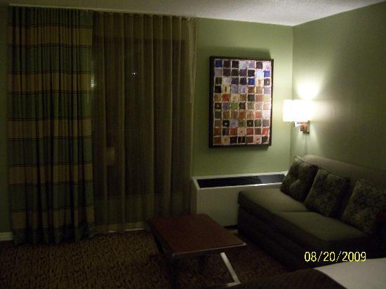 Doubletree Collinsville/St. Louis: Collinsville suite
