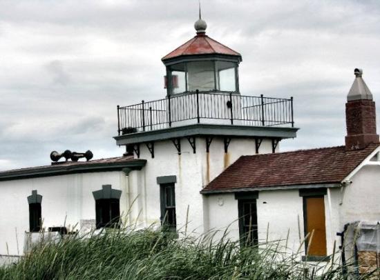 lighthouse.  discovery park // seattle, washington
