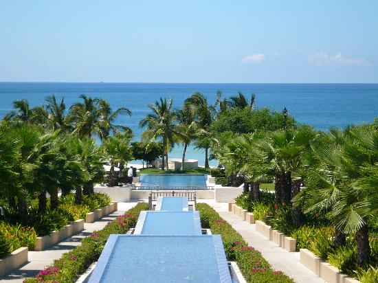 The St. Regis Punta Mita Resort: view from lobby