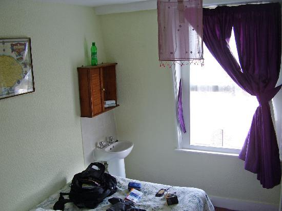 Westminster House Hotel : My smelly room.