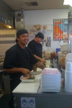 Hoagies Sandwiches & Grill : Nick and Jason