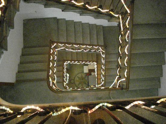 Al Gallo: Stairs up to the room