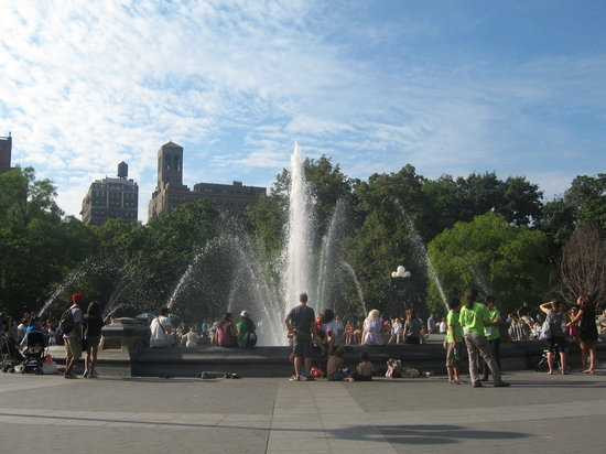 Washington Square Park : perfect for people watching