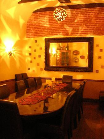 Private Room For Parties Picture Of Cafe Fiore Restaurant Ventura