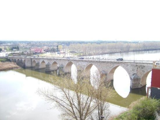 El Duero a su paso por Tordesillas