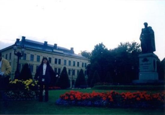 นอร์เชอปิง, สวีเดน: Beautiful flowers in the parks of Norrkopping