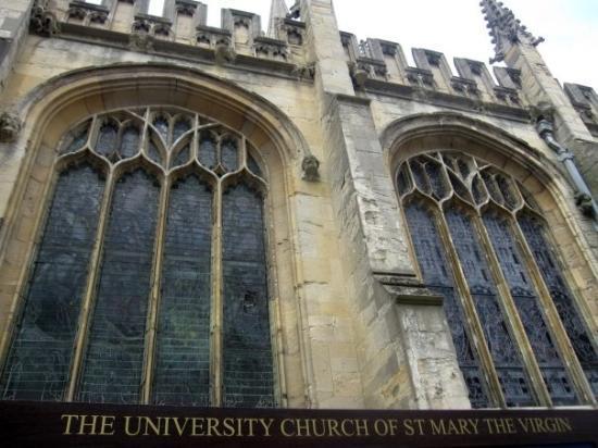 University Church of St. Mary the Virgin: Uni church