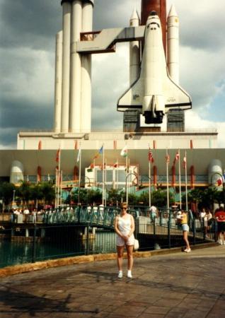 Cocoa Beach Fl Nasa Cape Canaveral 1991