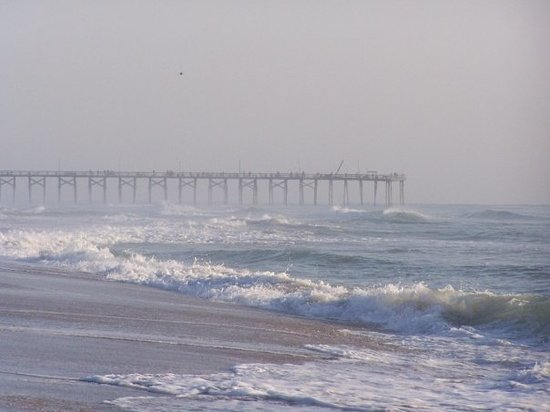 Carolina Beach State Park: Pier on Carolina Beach, NC