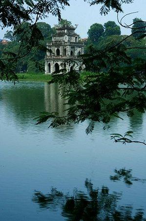 Hanói, Vietnã: Turtle Pagoda, Hanoi