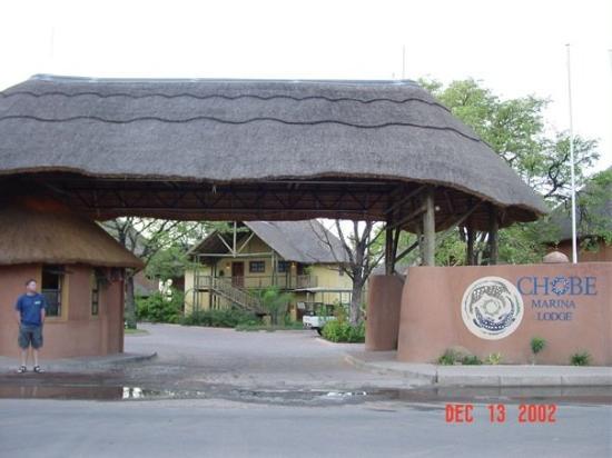 Chobe Marina Lodge: Our home for the week in Kasane, Botswana