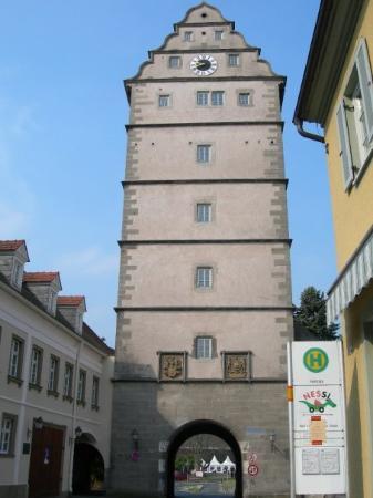 Bad Neustadt an der Saale, Allemagne : Hohntor