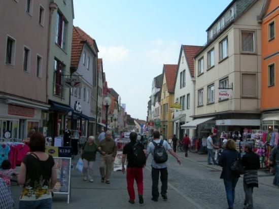 Bad Neustadt an der Saale, Allemagne : Strada principale