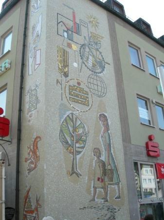 Bad Neustadt an der Saale, Allemagne : Marktplatz