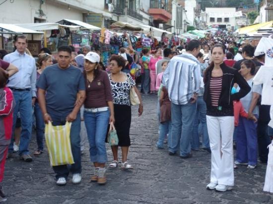 mercado de Tepoztlan