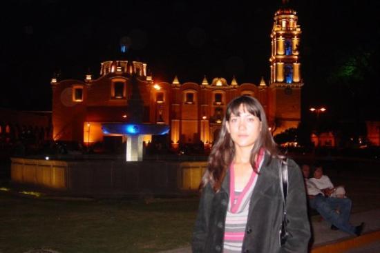 San Pedro Cholula, เม็กซิโก: Cholula de noche. 9/05