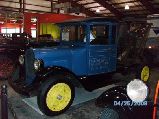 วาลคอตต์, ไอโอวา: 1927 Graham BB 1 ton Wrecker